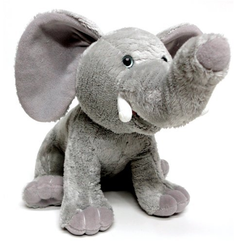 Tusker the Talking Elephant 10` Animated Educational Plush Toy