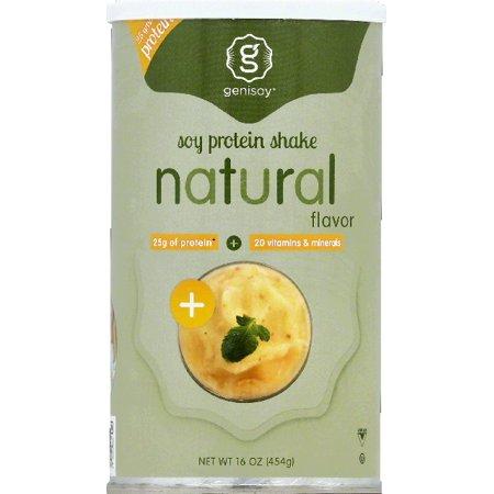 Genisoy naturel sans saveur de protéines de soja en poudre, 16 oz