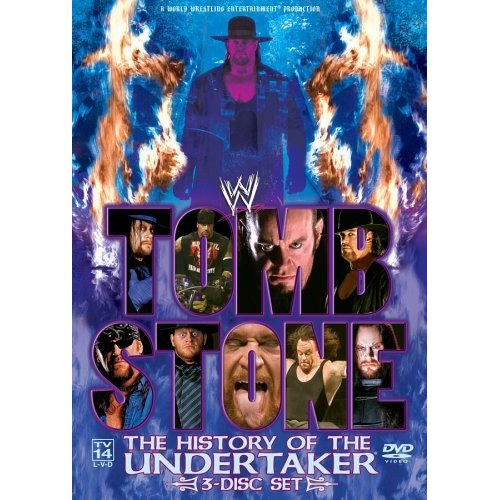 Wwe-tombstone History Of The Undertaker [dvd/3 Disc] (genius Products)