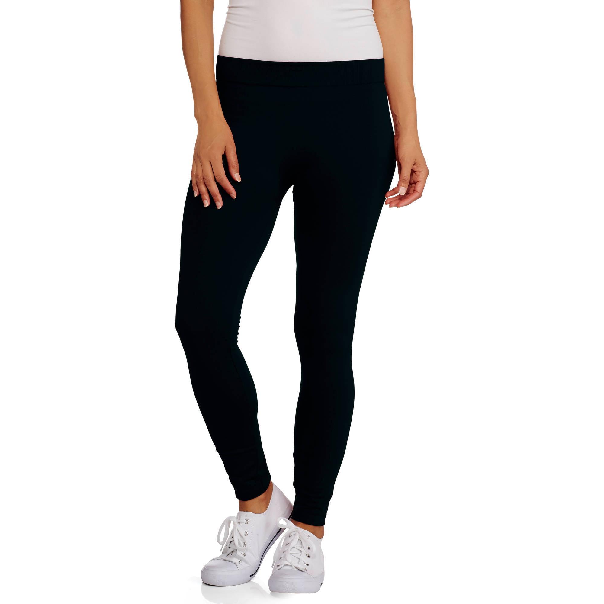Online Women S Fleece Lined Leggings Walmart Com Walmart Com