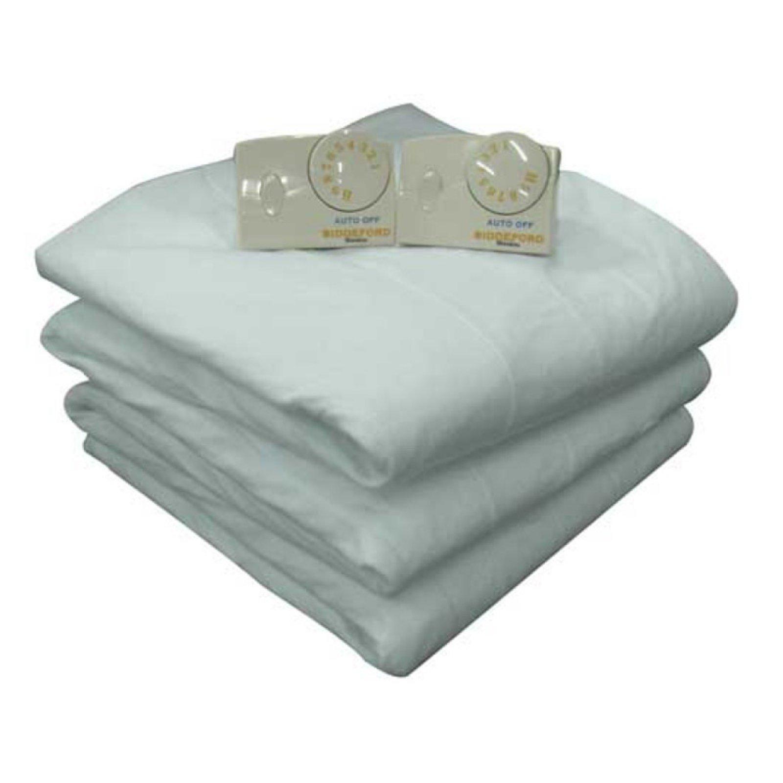 Biddeford Blankets Electric Heated Mattress Pad Walmart Com