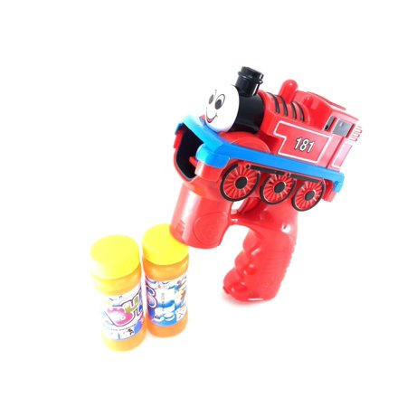 Thomas Train Party Favors (Party Favors Cartoon Thomas Express Train Bubble Gun Blowing Gun w/ Light,)