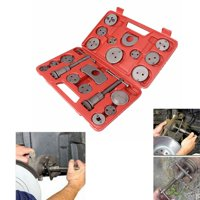GZYF 21pcs/set Universal Disc Brake Caliper Piston Pad Car Auto Wind Back Hand Tool Kit