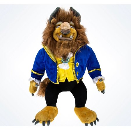 Beast Plush - disney parks beauty and the beast premium large 23