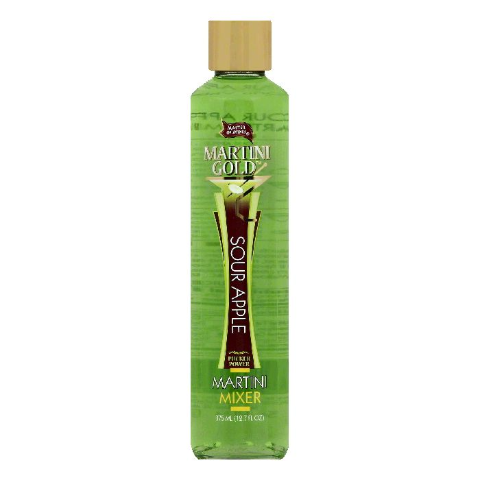 Master Of Mixes Sour Apple Martini Mixer, 12.7 OZ (Pack of 6)