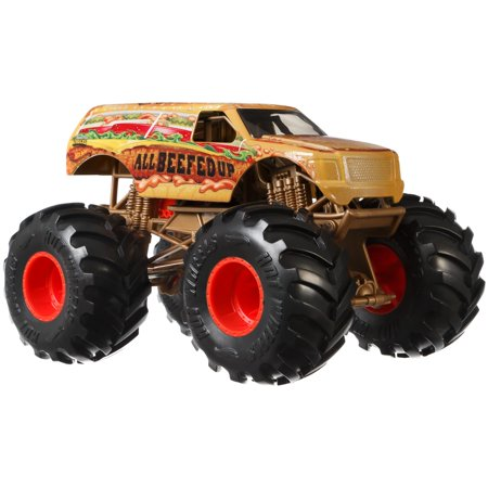 Hot Wheels Monster Trucks 1:24 Scale All Beefed Up