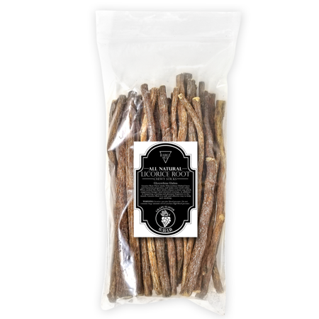 Licorice Root Natural Organic Flavored Chewy Stick with Anti-Bacterial Properties for Stronger White Teeth [0.50 lb]- Grape Flavor](Grape Licorice)