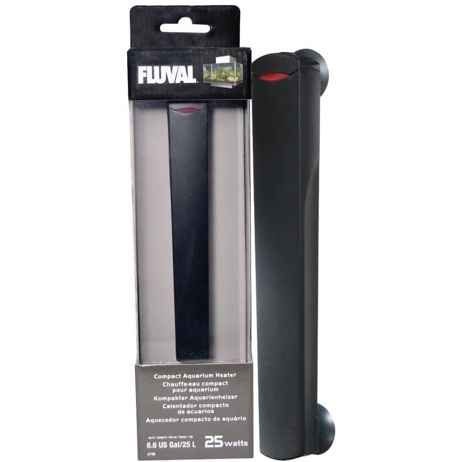 Fluval Edge Compact Aquarium Heater, 25-Watt