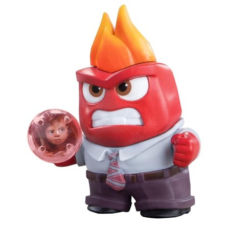 Disney Pixar's Inside Out Anger Small Action Figure ()
