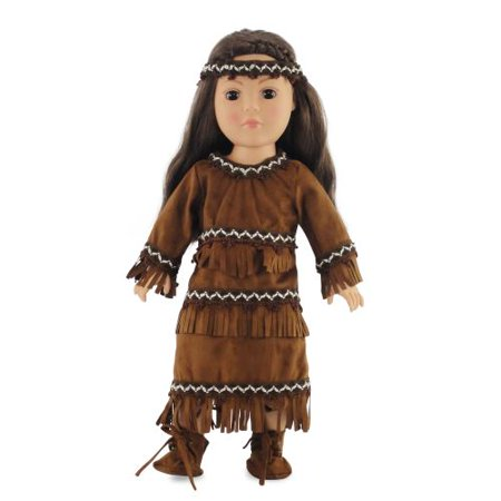 """18 Inch Doll Clothes/clothing Fits American Girl – Native American Outfit Fits Kaya 18"""" Dolls Plus"""
