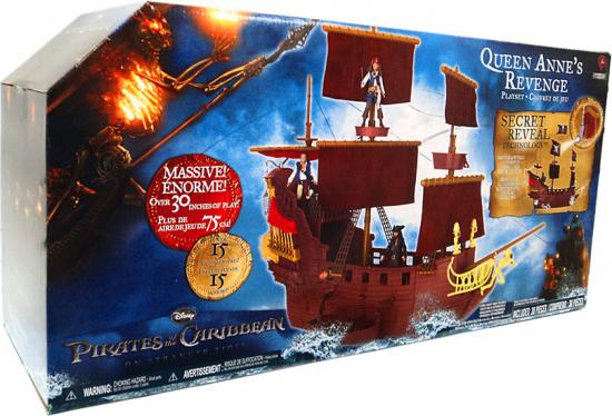 Pirates of the Caribbean 4 Queen Anne's Revenge Hero Ship Play Set by Jakks Pacific