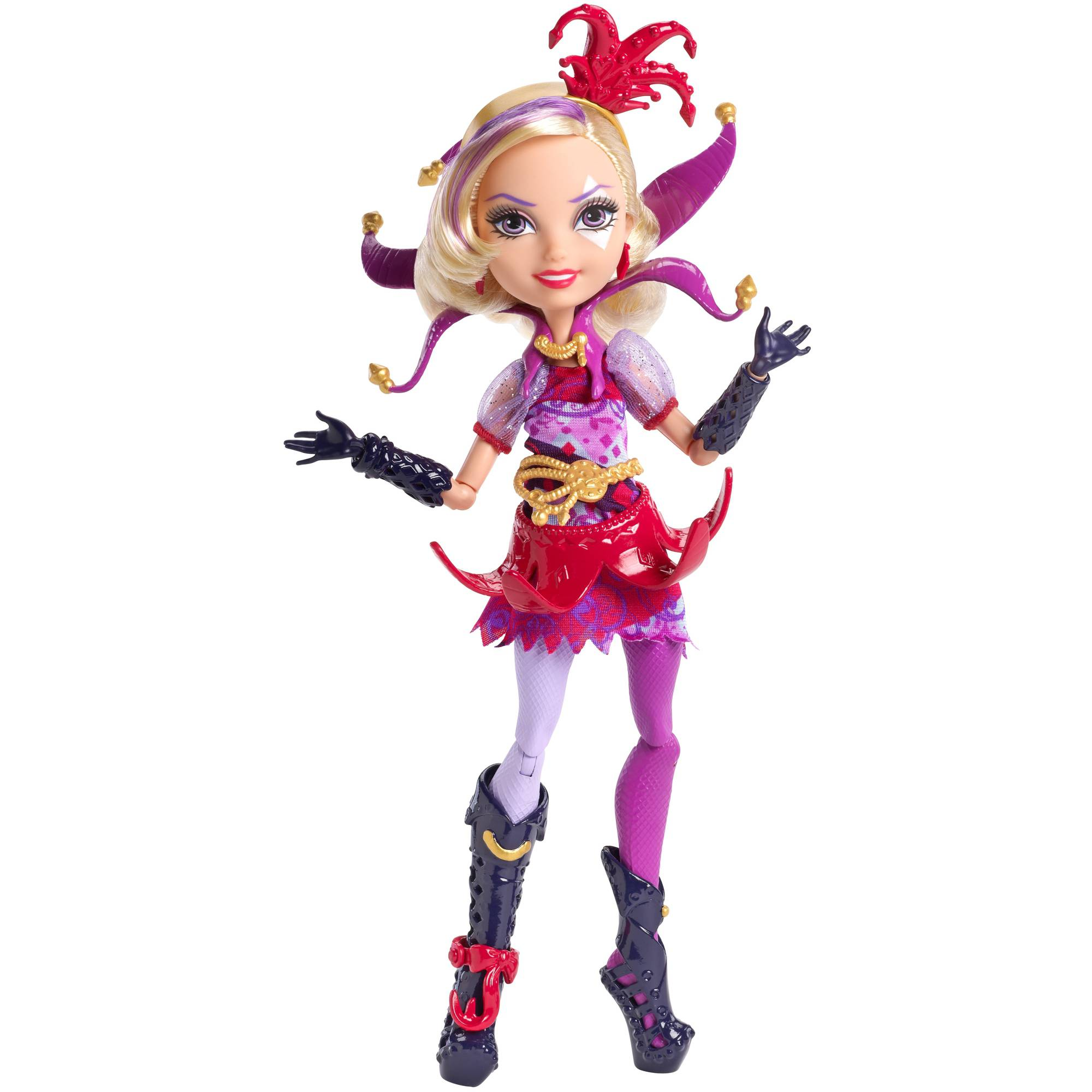 Ever After High Way To Wonderland Courtly Jester Doll
