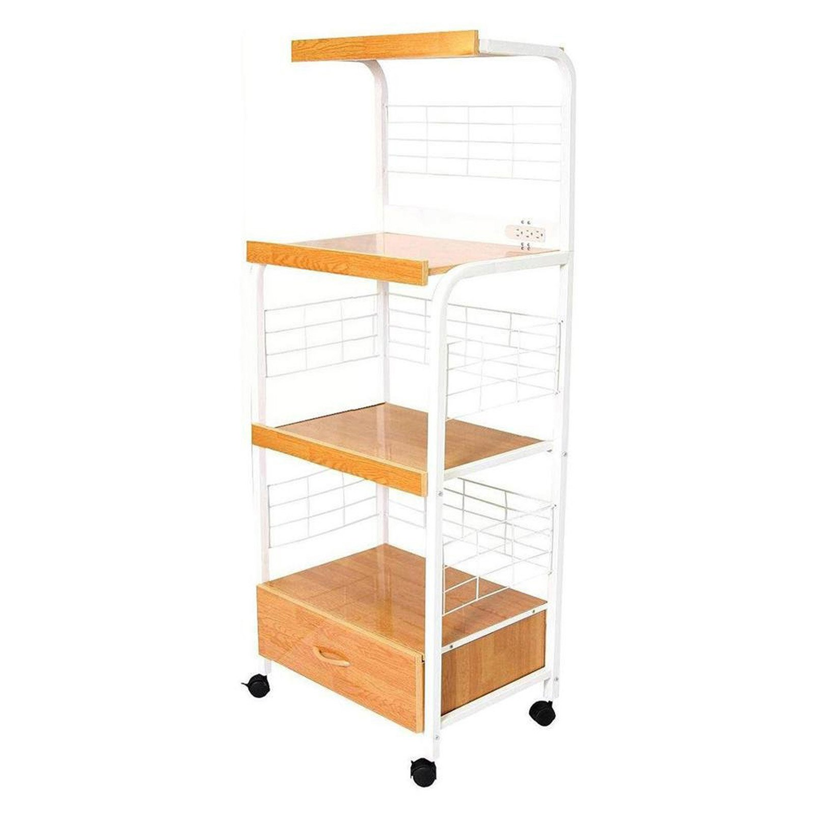 59 5 Tall Tier Microwave Kitchen Cart