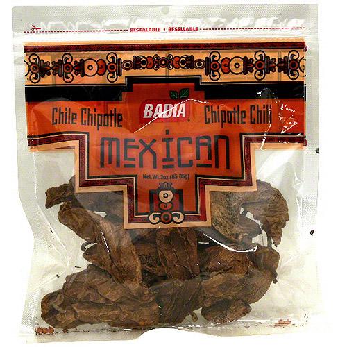 Badia Chipotle Chili Pods, 3 oz (Pack of 12)