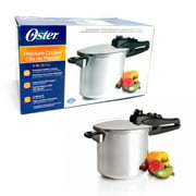 6 Quart Oster Pressure Cooker Kitchen Cookware Pot Steamer Heavy Duty Aluminum !