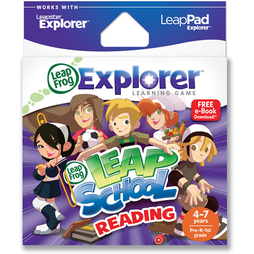 LeapFrog Explorer & LeapPad Learning Game: Leap School Reading