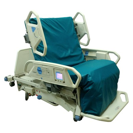 Electric Hospital Bed (HILL-ROM TOTAL CARE HOSPITAL BED P1900 WITH AIR MATTRESS AND SCALE)