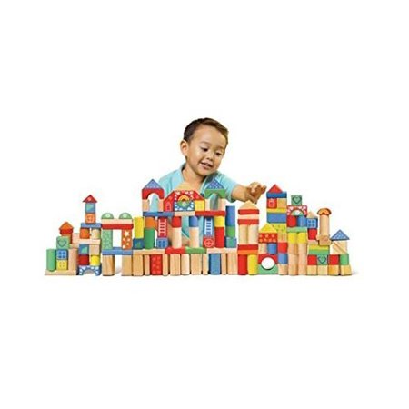 150 Piece Wooden Block Set, 24Piece Panels Boards Stacking FROG Plays Builder Safari Sing Stacker 150 Design Peacock Creative Mouths Imagine.., By Spark Create Imagine Ship from - Wooden Stacking Blocks