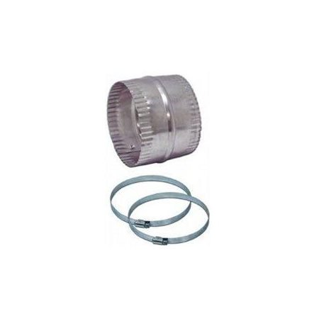 Duct Mount Kit - Lambro Industries 320L Dryer Duct Extension Kit, Flexible Aluminum, Universal Fit, 4-In.
