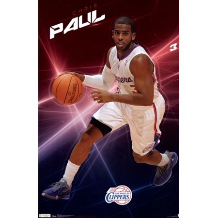 Los Angeles Clippers Chris Paul 2011 Poster Print (22 x 34) by