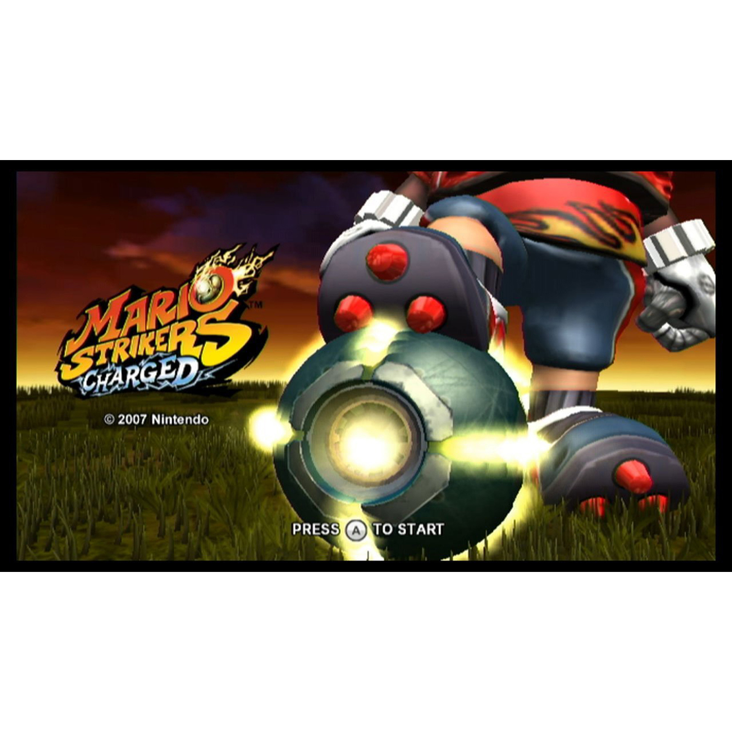 Wii Mario Strikers Charged (Email Delivery)