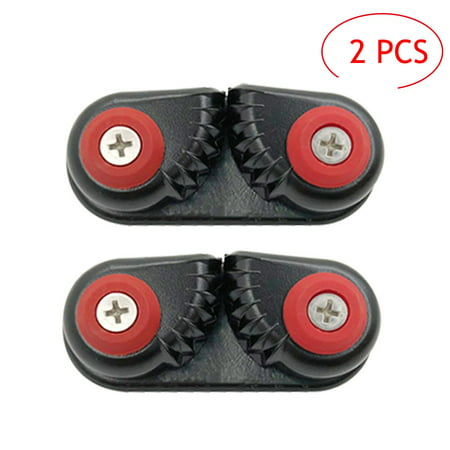 2PCS Kayak Cam Cleat Boat Canoe Sailing Boat Dinghy Aluminum Cam Cleats Fast Entry Kayak (Cam Newton American Flag Cleats For Sale)