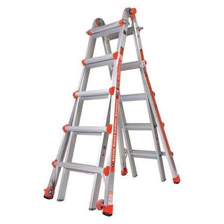 Little Giant 22 ft. Aluminum Multipurpose Ladder , 10103LG
