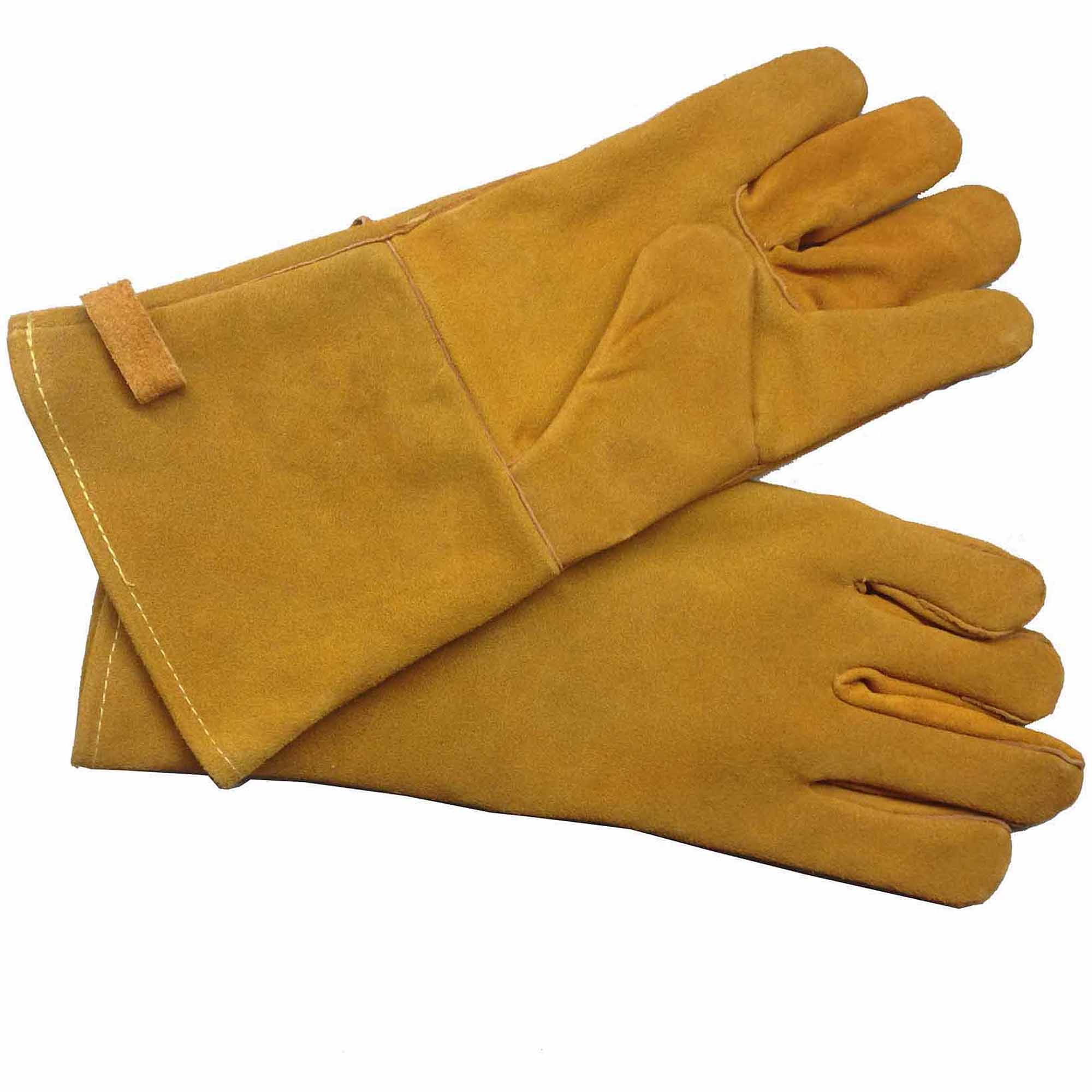 Pleasant Hearth Fireplace Gloves, Brown