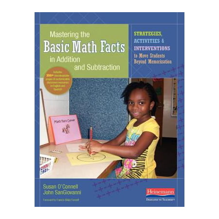 Mastering the Basic Math Facts in Addition and Subtraction: Strategies, Activities, and Interventions to Move Students Beyond Memorization (Paperback) - Halloween Math Fact Practice