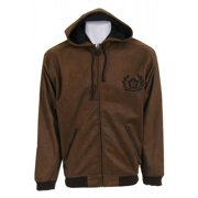 Sessions Maverick Softshell Hoodie Brown Mens