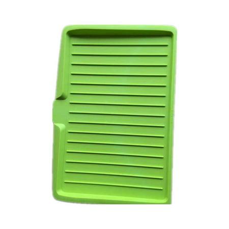 Kitchenware Plastic Cutlery Drainer Drip Tray Dish Plate Sink Drying Rack Worktop Holder Organiser - 47 Bottom Basin Rack