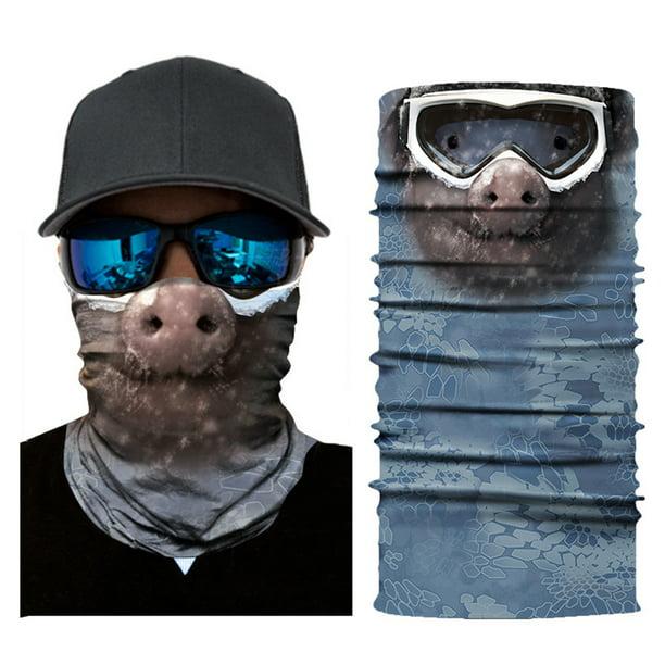 Details about  /UV Sun Protection Balaclava Bandana Face Cover Tube Scarf Neck Gaiter Headwear