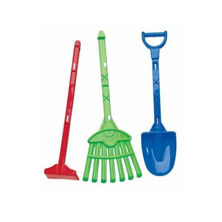 American Plastic Toys Deluxe Garden Tools 28-inch Toy Set (Pack of 3)