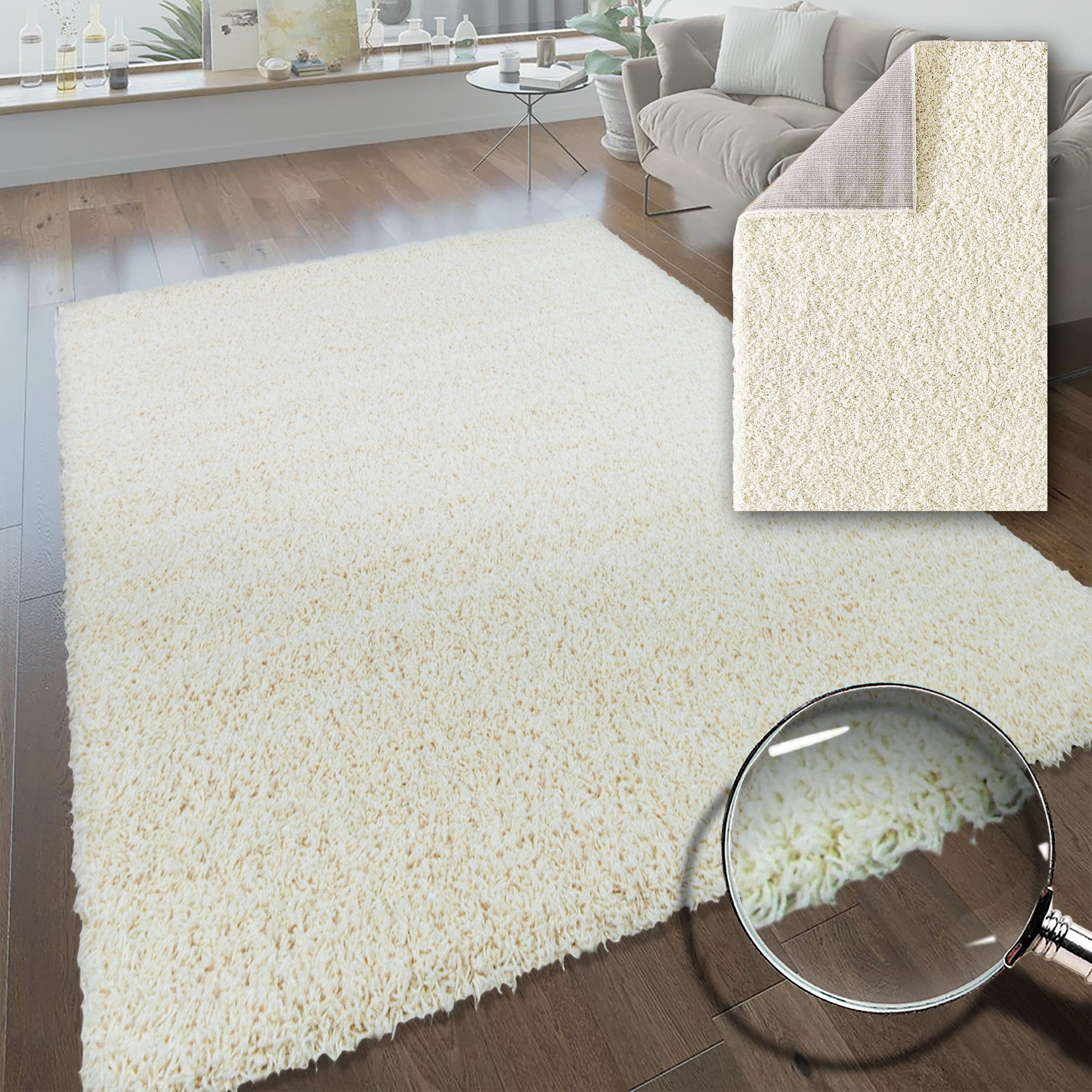 6 x 8 Ft Black Rectangular Door Mat Carpet Rug Indoor Outdoor Floor Large