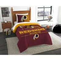 """NFL Washington Redskins """"Draft"""" Bedding Comforter Set"""