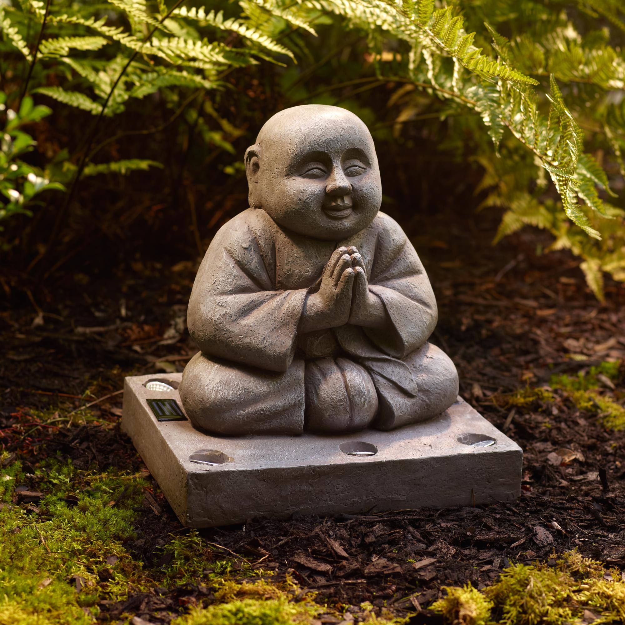 Solar Buddha Statue