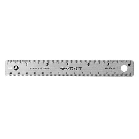 Stainless Steel Office Ruler With Non Slip Cork Base  6