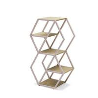 Hexagon Bookshelf by Drew Barrymore Flower Home