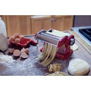 "Weston Traditional Style 6"" Pasta Machine - Tuscan Red"