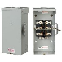 GE Industrial - TC10324R - 200 Amp Double Throw - Outdoor Nema 3R - 120/240V Non-Fused Transfer Switch