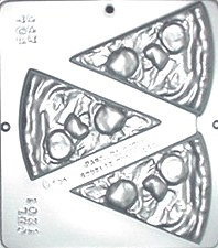 1201 Pepperoni Pizza Chocolate Candy Mold by