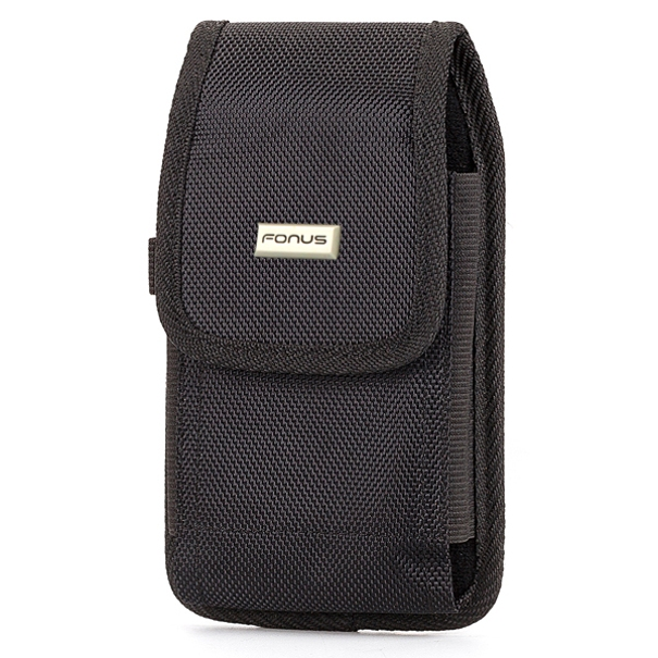 Rugged Canvas Case Holster Belt Clip Pouch Cover OZB for iPhone 8