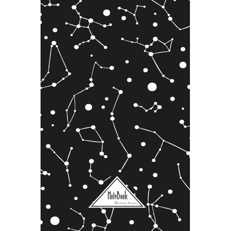 Notebook Journal Dot-Grid, Graph, Lined, No Lined: Geometric Astronomy Zodiac Star: Small Pocket Notebook Journal Diary, 120 Pages, 5.5 X 8.5