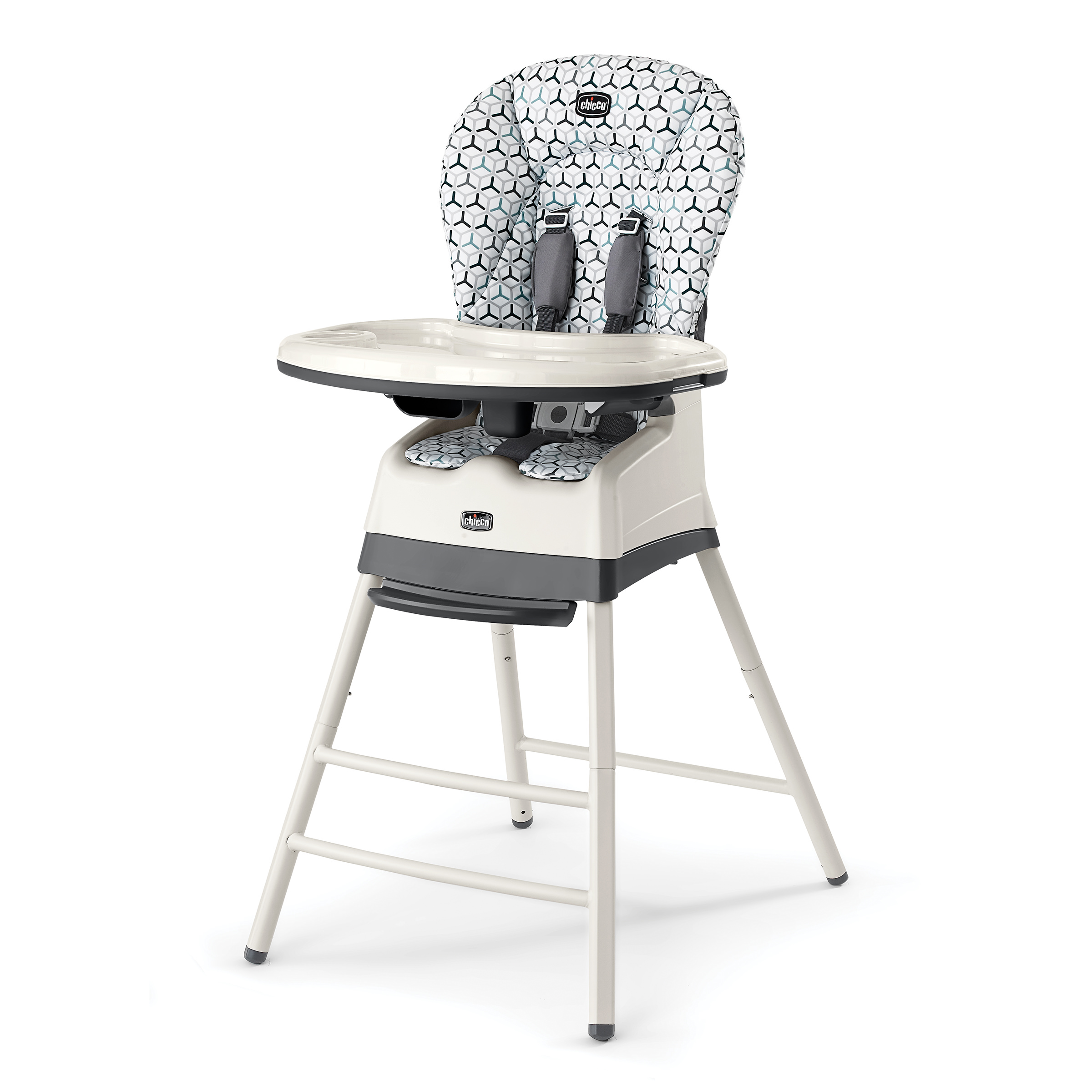 Chicco Stack 3-in-1 High Chair, Verdant