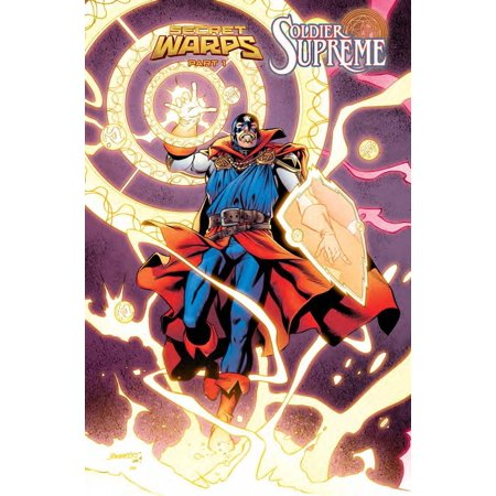 Marvel Secret Warps Soldier Supreme Annual #1 [Carlos Pacheco Connecting Variant - Soldiers Cover