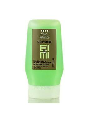 Wella Eimi Sculpt Force Extra Strong Flubber Hair Gel, 4.58 Oz)