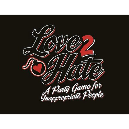 Love 2 Hate : A Party Game for Inappropriate - Multi Pebble