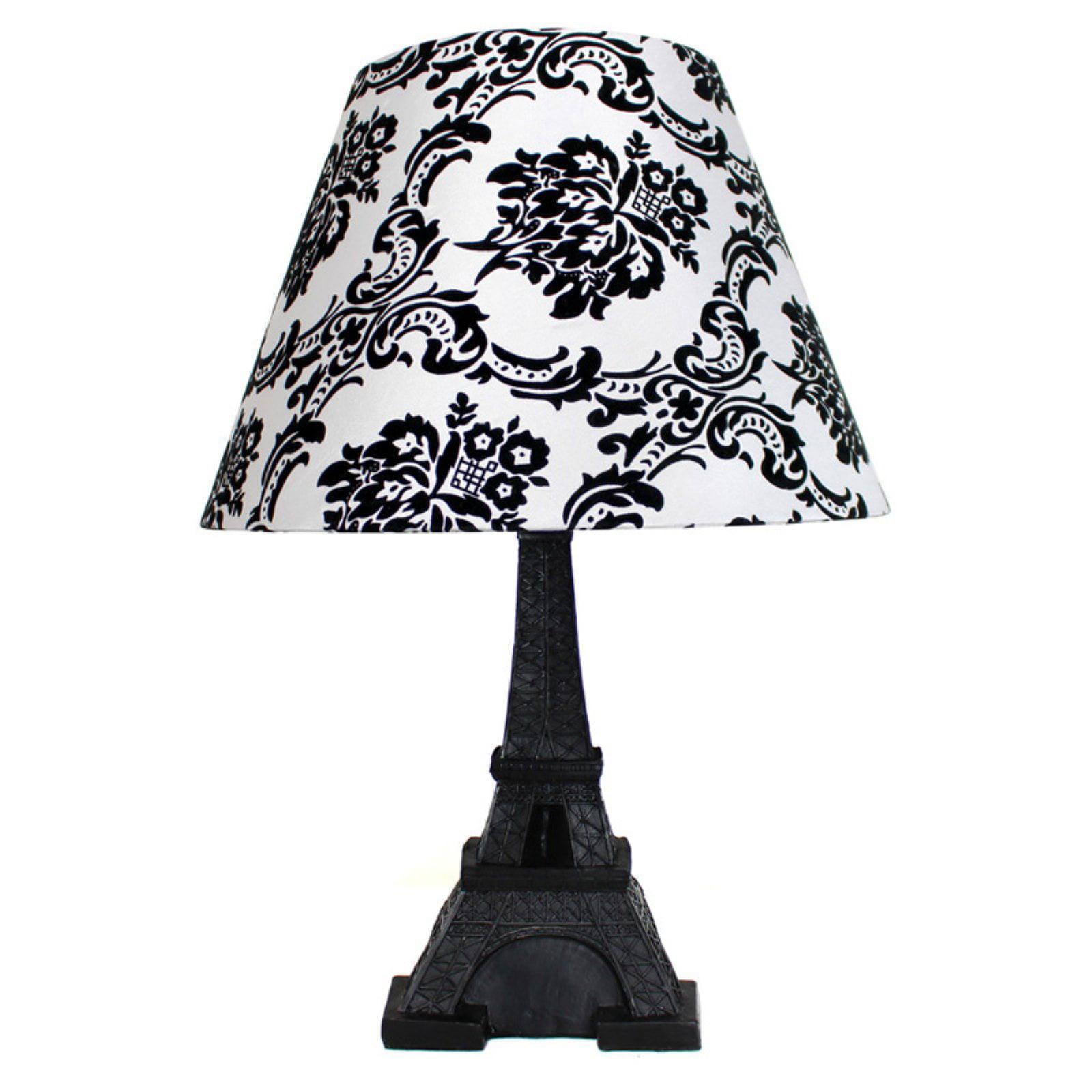 Simple Designs LT3010-DSK Eiffel Tower Paris Table Lamp