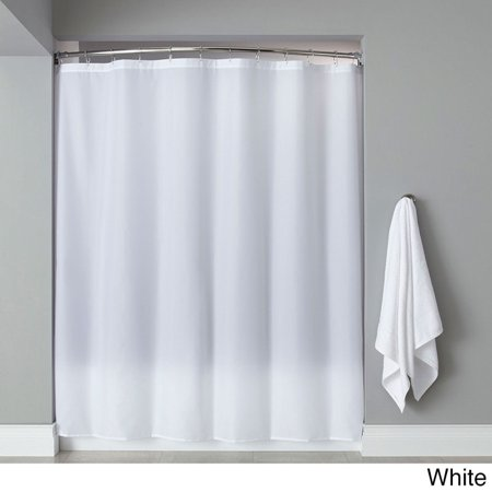 Bed Bath N More Extra Long Heavyweight Mildew Resistant Vinyl Shower Curtain Liner
