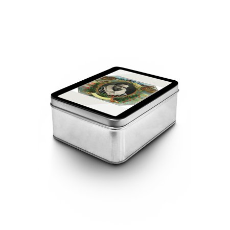 Walter Raleigh Brand Cigar Box Label - Walter Raleigh (Explorer) (Keepsake Tin) ()